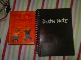 Death Note And Itcha Itcha by Asenath-Nightroad