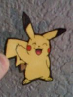 Paper Pikachu by Arkluden