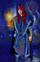 The New Archmage by SlayerSyrena