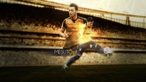 Mesut Ozil 2015/2016 Wallpaper by RicardoDosSantos