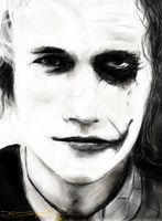 Heath Ledger by acostamt