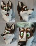 Husky Mask by matrices