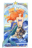 The Little Mermaid by Vassantha