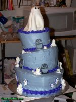 Halloween Mad Hatter Cake by GmrGirlX