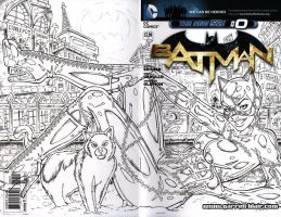 Catwoman cover WIP 3 by gb2k