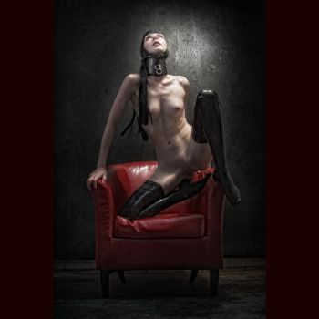 Red Chair One by mastertouch