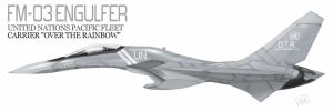 FM-03 U.N.NAVY Carrier O.T.R. by fighterman35