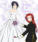 ToS Wedding: Zelos and Sheena by ChibiRed