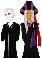 Frollo and Xemnas Switchover by BambisParanoia