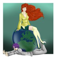 Scax week : Ruling The World by AnnettaSassi