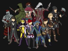 Assassin's Creed Multiplayer II by FindingMyMonkey