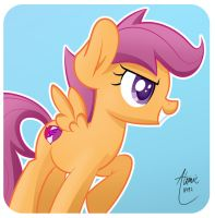 Scootaloo by Atomic8497