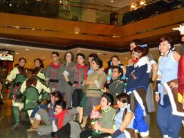 Avatar Cosplay Group by EndOfGreatness