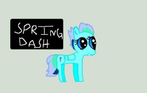 SPRING DASH by Mapleflame2