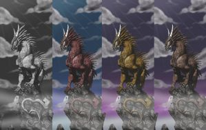 dragons colors by BlackBy