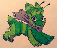Creature Chib Commish - Abwettar by Kaweki