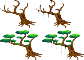 SPRITE: Trees by JaziSnake