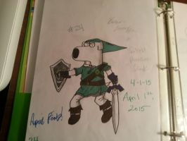 24. Brian as Twilight Princess Link by BrianGriffin61