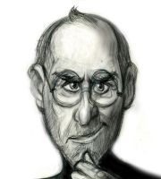 Steve Jobs caricature by SuperRetroBoy