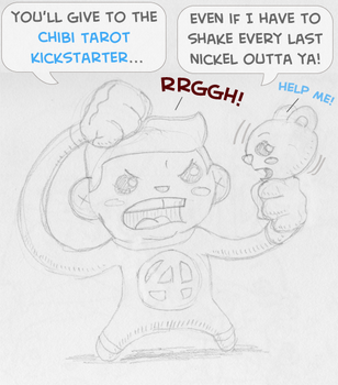 Chibi Reed Richards for the Chibi Tarot by epimetheus