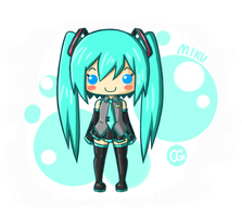 Happy Miku is Happy by CgSuikane