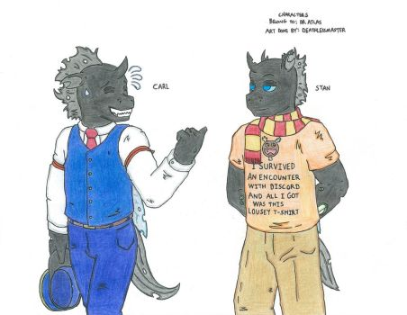 Stan and Carl by DEATHLESS-MASTER
