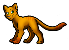 Fireheart Ref by Blairaptor