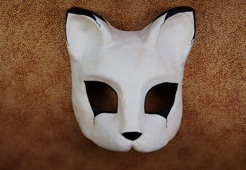 Cat Mask by AnotherFaceStudio