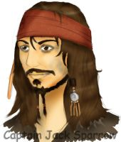Captain Jack Sparrow by fanchielover15