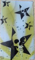 Stencil work by Kelden17