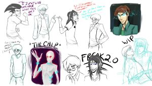 404 Error Sketchdump 3 by CharlieMcCarthey