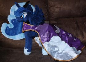 Princess Luna Plush by 90Sigma