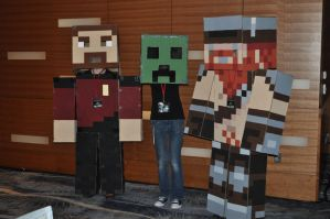 Minecraft Yogscast Cosplay 1 by Auzrill