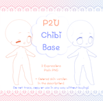 [P2U] Chibi Base PNG LIMITED TO 50 by Valyriana