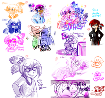 Splatoon Doodle Dump-1 by ShinyMeowstic