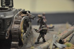Leman Russ Tank destroyed 6 by Cpl-Highway