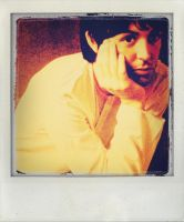 Paul McCartney Polaroid by Beatlegeek