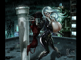 The Black Cat robbery by mangrowing