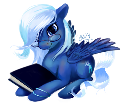Pony Commission: Starcrosser by enigmatia
