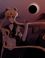Contest: Dark Sailor Moon! by Amai-Kawaii