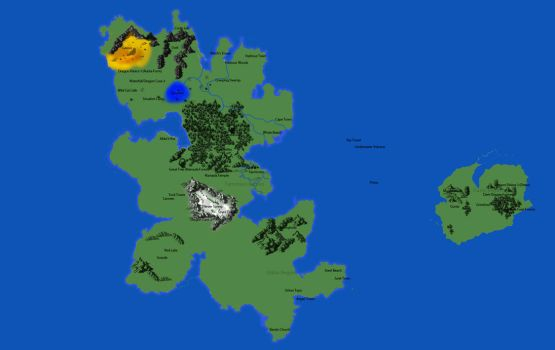 Western Continent WIP by Anfini00