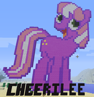 Minecraft Cheerilee by FaithlessHyren