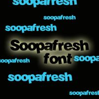Soopafresh Font by lovelielife