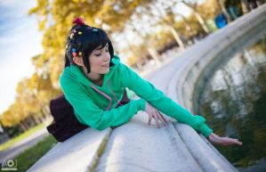 Sweet Vanellope - Wreck-it-Ralph by NunnallyLol