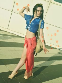 Nico Robin 2 years later cosplay by Yuno-Dragneel