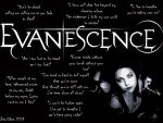 Evanescence Wallpaper by biachan