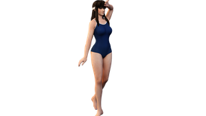 Hitomi Render by CeCeFever