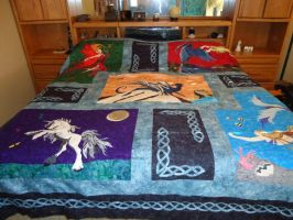 Custom Quilt for Ian by KnottyCovers