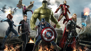Avengers Age Of Ultron by DavidCDesigns