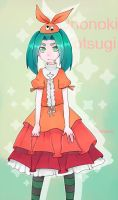 Ononoki Yotsugi by Gobi-the-dog